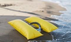 告别溺水,让旱鸭子也能下水浪的智能游泳项圈