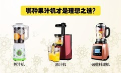 每逢佳节胖三斤?这些果汁机是你节后健康瘦身的好帮手