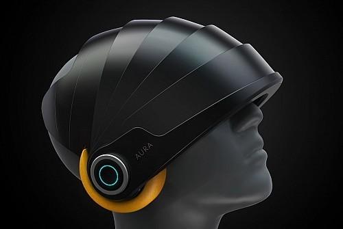 旅行再也不用担心休息不好了,这款头盔竟然可以帮你冥想