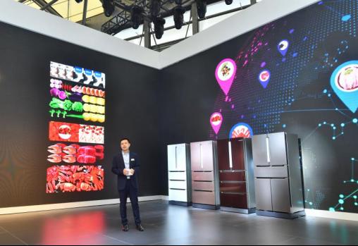 博世家电在AWE重磅发布多款冰箱新品,精彩诠释现代健康生活理念