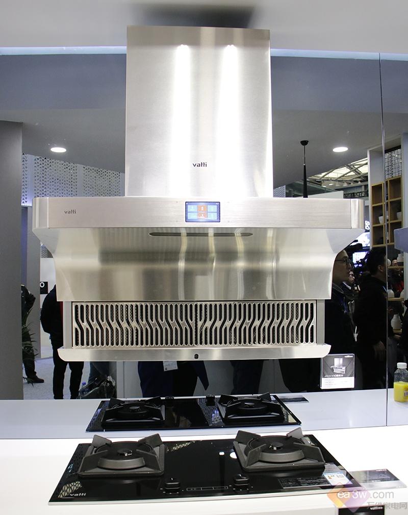 华帝三款新品惊艳亮相AWE展 宣告厨房后工业时代来临