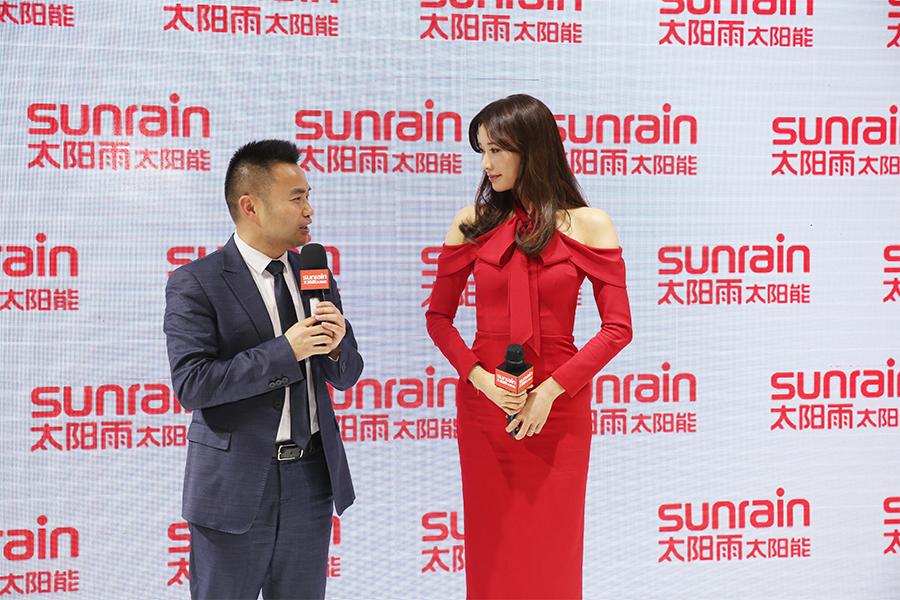 AWE 2018:林志玲亮相太阳雨 拟出演《太阳能一切》纪录片
