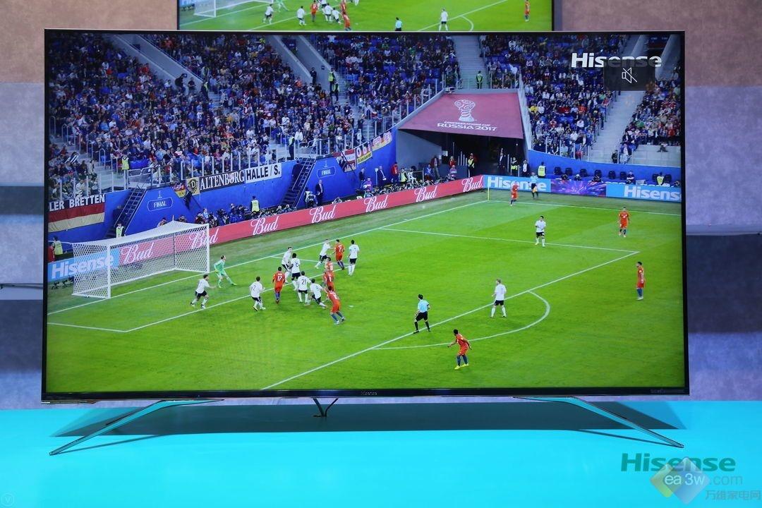 """为足球而生,海信U7超画质电视就是你的""""世界杯"""""""
