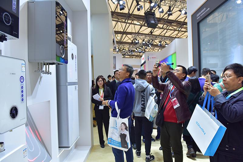 博世热力技术高调亮相2018年AWE展会,全新产品缔造