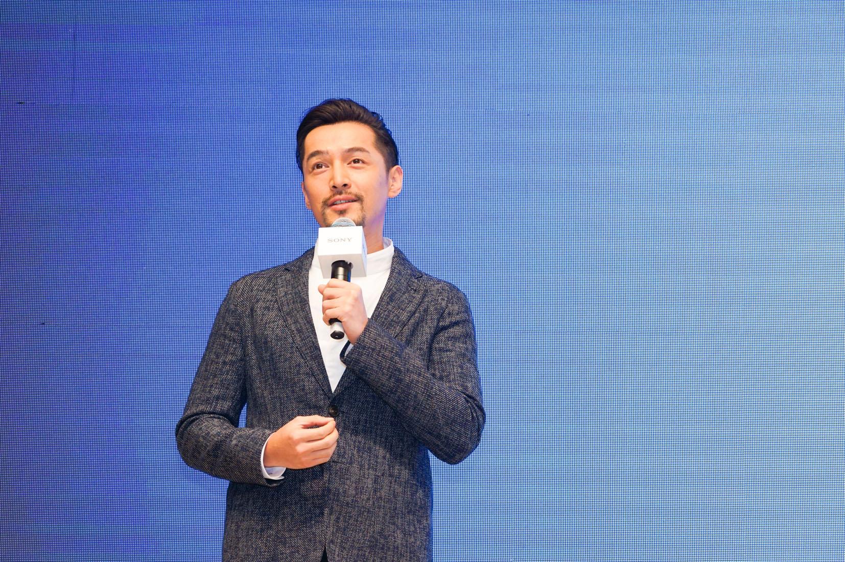"""匠心雕琢,创领不凡 """"视""""界 实力派演员胡歌亮相索尼全新OLED电视A8F中国发布会"""