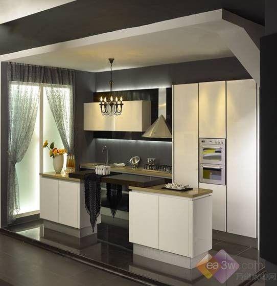 简欧式厨房设计