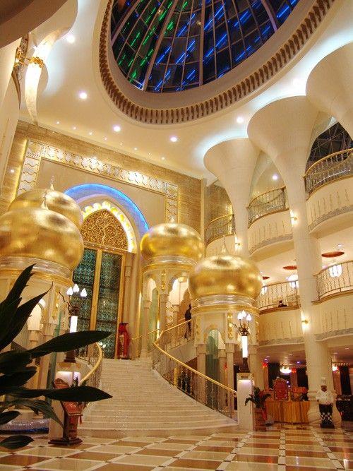 设计师阿康:新疆君邦天山大饭店