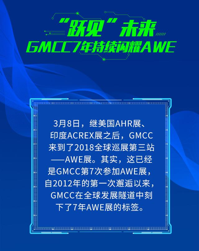 """""""跃见""""未来, GMCC 7年持续闪耀AWE"""