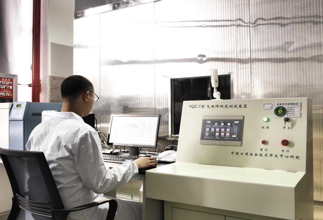 315品质行 森歌实验室为您的集成灶保驾护航