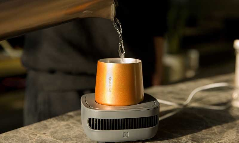创意酷品:火锅的同胞兄弟?原来是一款桌面极速制冷神器