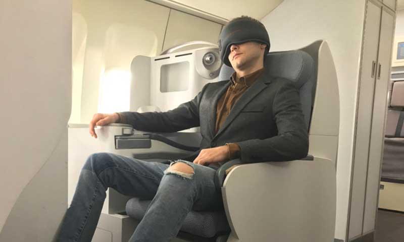 创意酷品:科技感满满的眼罩,竟然暗藏五项黑科技