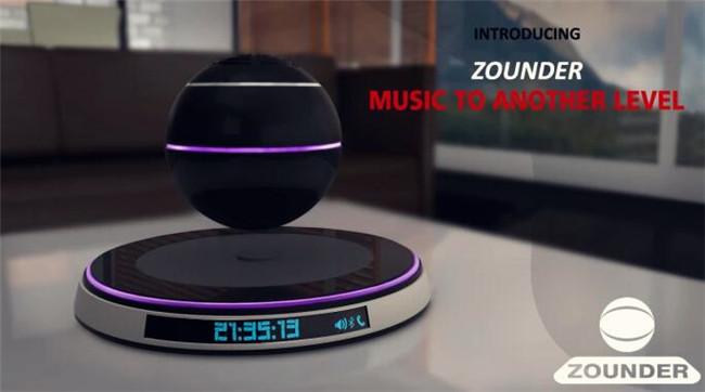 可以漂浮的扬声器,能给你带来怎样的科幻感受
