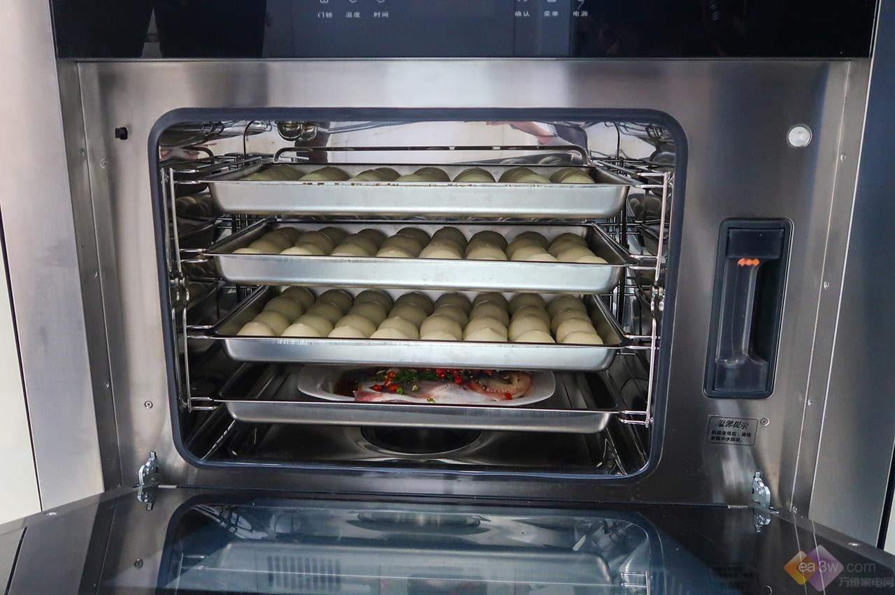 吃出幸福感,森歌集成灶款蒸箱轻而易举给你美食好滋味