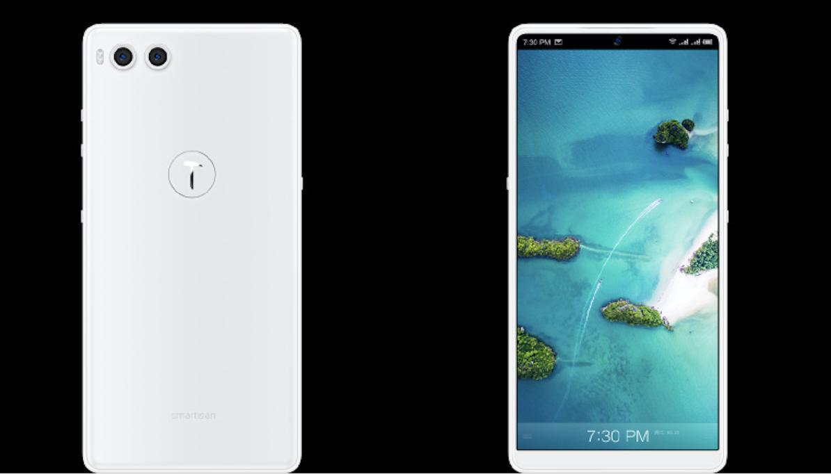 锤子科技发布次世代安卓旗舰手机坚果R1,售价3499元起,5月15日开售