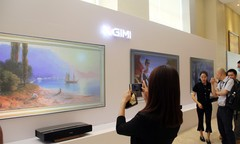 """只做高""""品价比""""产品 极米发布无屏电视H2、H2 Slim及激光电视皓·LUNE"""