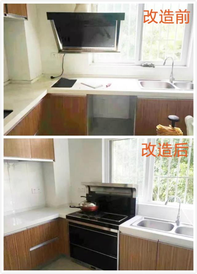"""这些堪称""""整容""""的厨房大改造,了解一下!"""