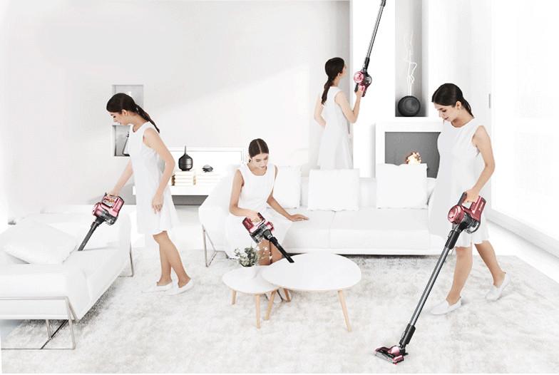 创意酷品:专为女性设计的吸尘器,来看看它有哪些玩法