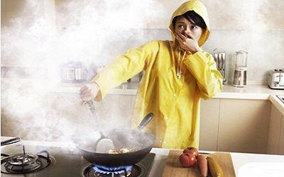森歌厨房无烟日:你的厨房该戒烟了