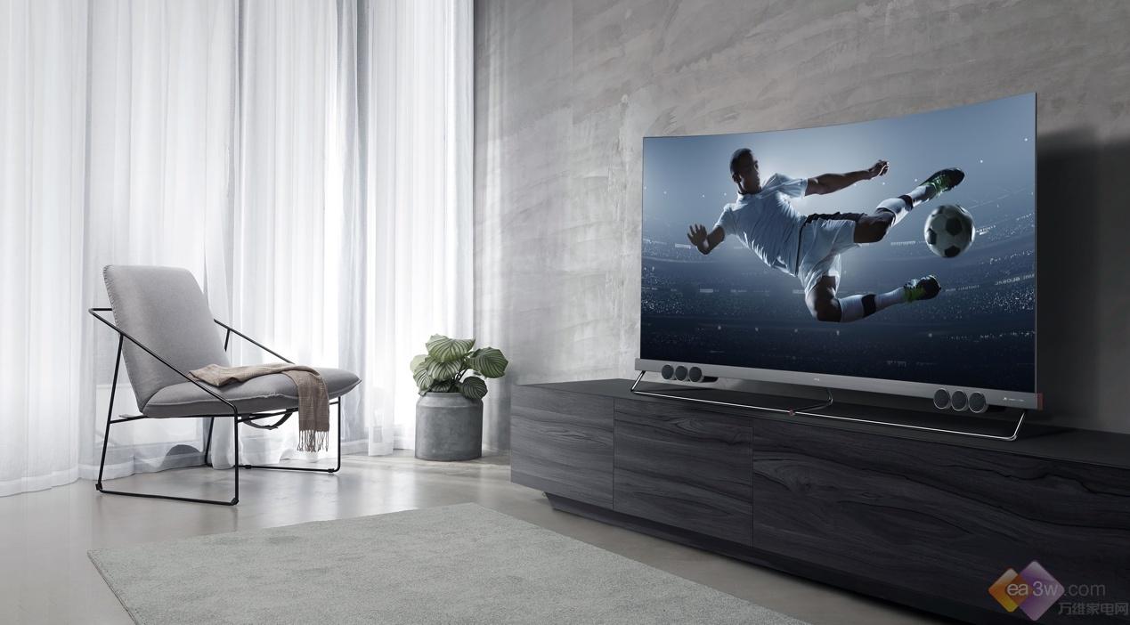 TCL电视608全屏大轰趴开启,多重福利让客厅看球升级