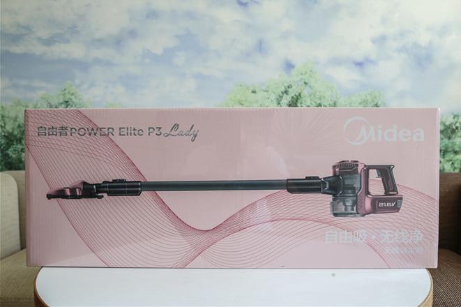 美的P3-Lady吸尘器,高品质清洁好物