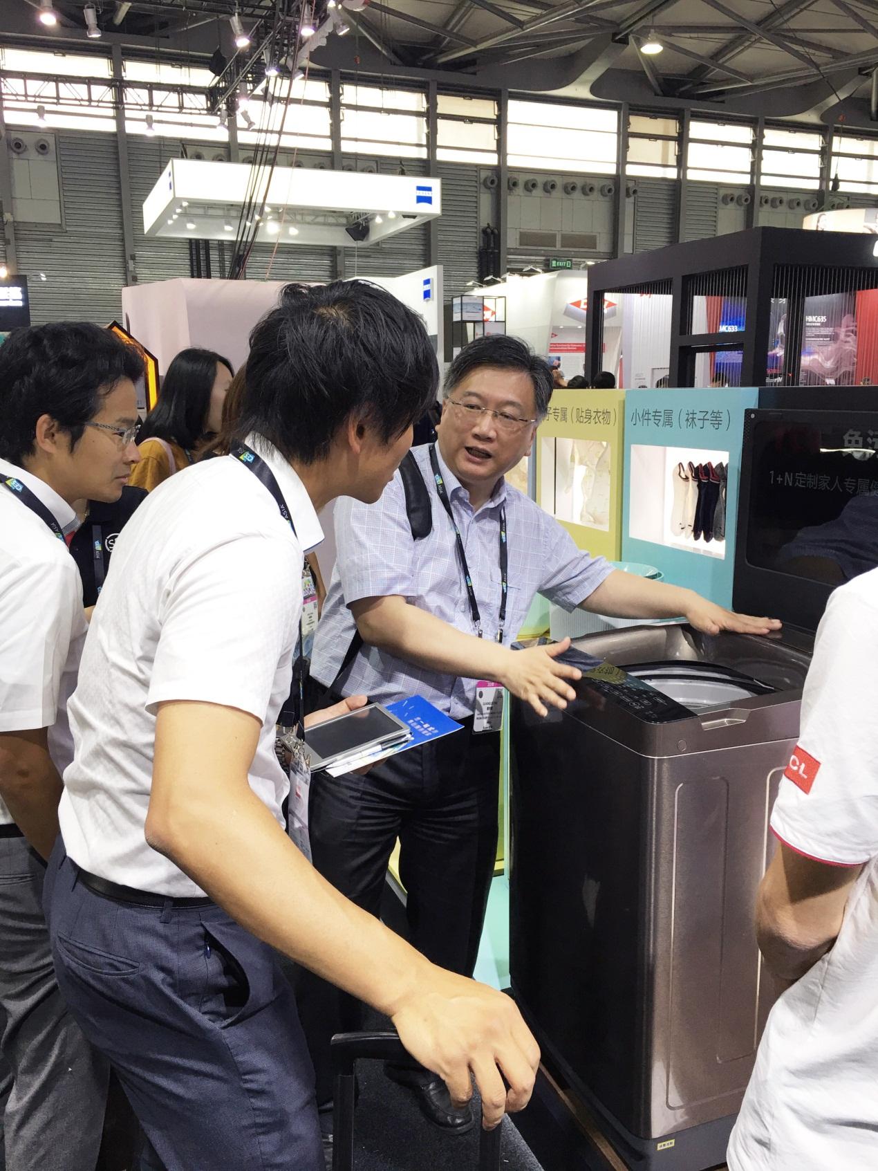 TCL冰箱洗衣机亮相CES Asia 2018  引领白家电发展新趋势
