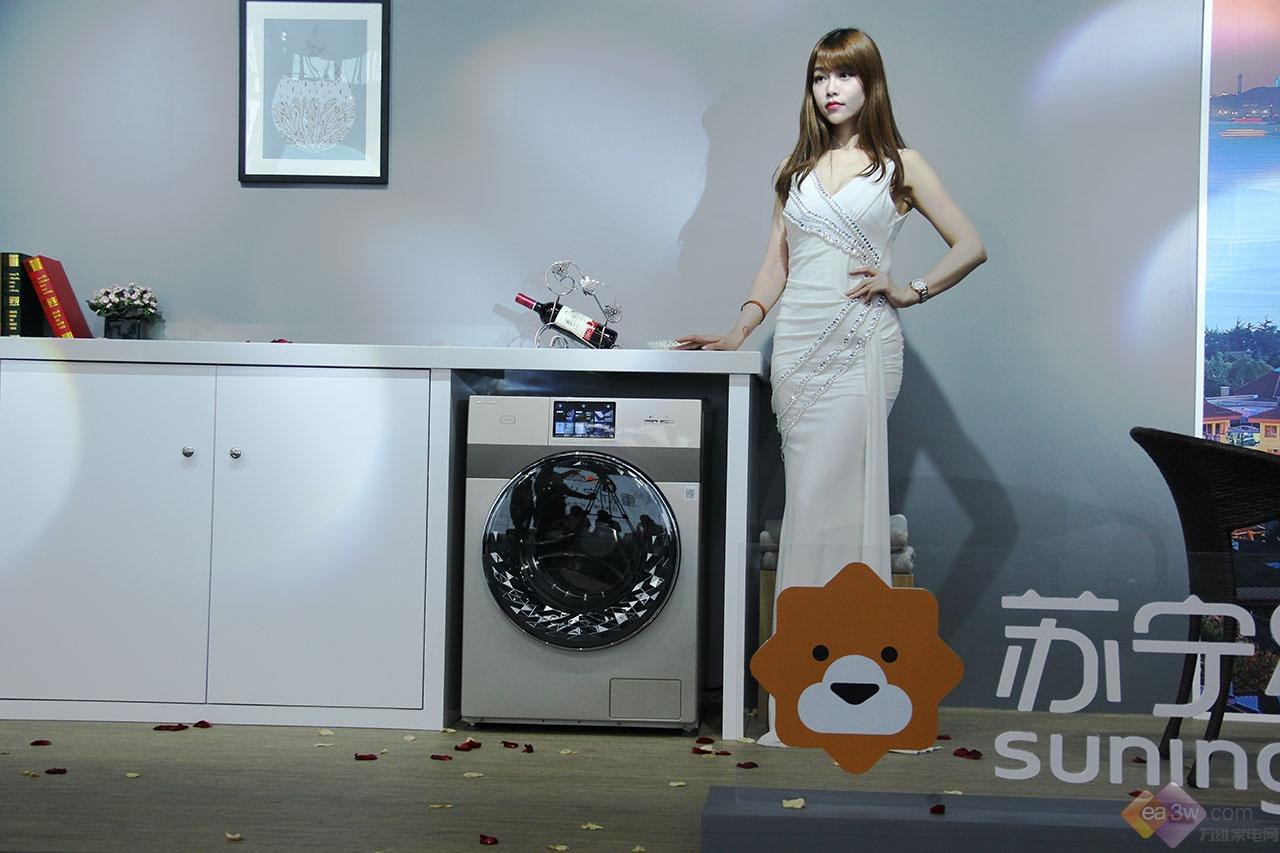 比佛利嵌入式洗衣机新品苏宁618首发  重新定义高端滚筒
