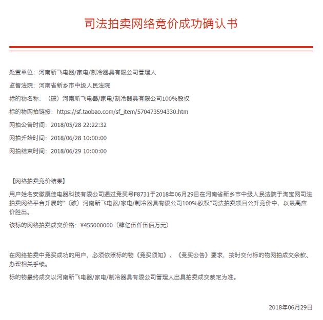 科技早闻:康佳4.55亿竞得新飞,双卡双待iPhone 8曝光