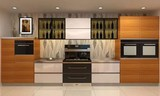 班贝格不锈钢橱柜,现代厨房新选择