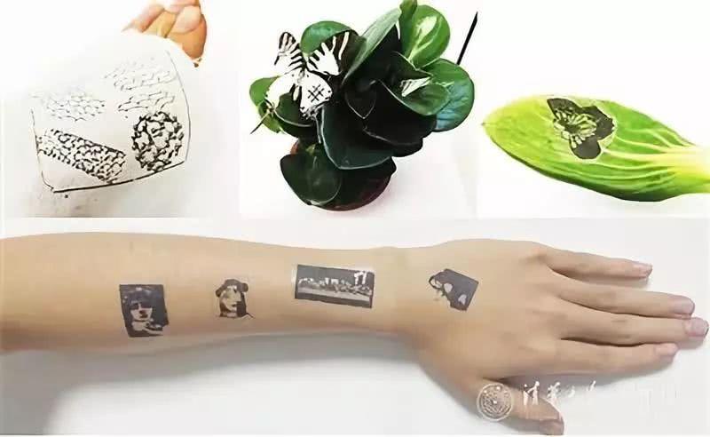 石墨烯竟然还能这么玩,可以探测心率的电子纹身试过吗?