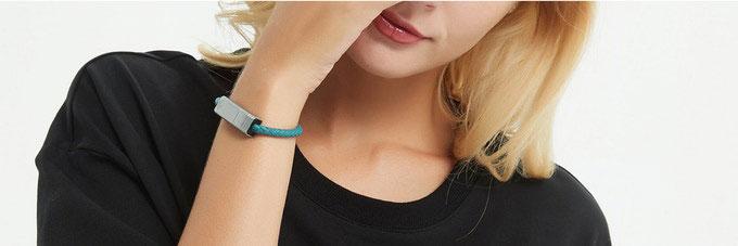 创意酷品:手链也能当充电线?想不想了解一下