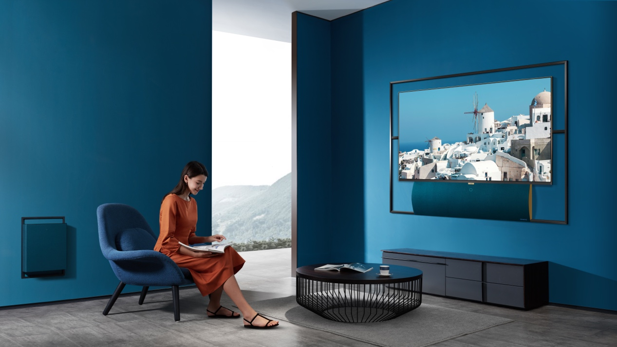 Living Window浮窗全场景TV正式亮相,推动家电家居融合新趋势