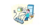 插线板不会选,不会用,直接导致家电起火!