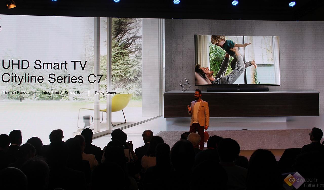 8K/X8/C7/Living Window全球发布,2018 IFA TCL再启创新之旅