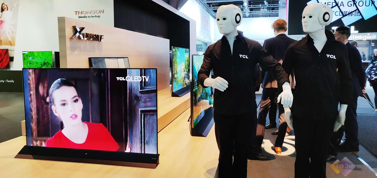 """2018IFA现场:TCL电视祭出""""大杀器"""",新一代旗舰和8K技术引爆IFA"""