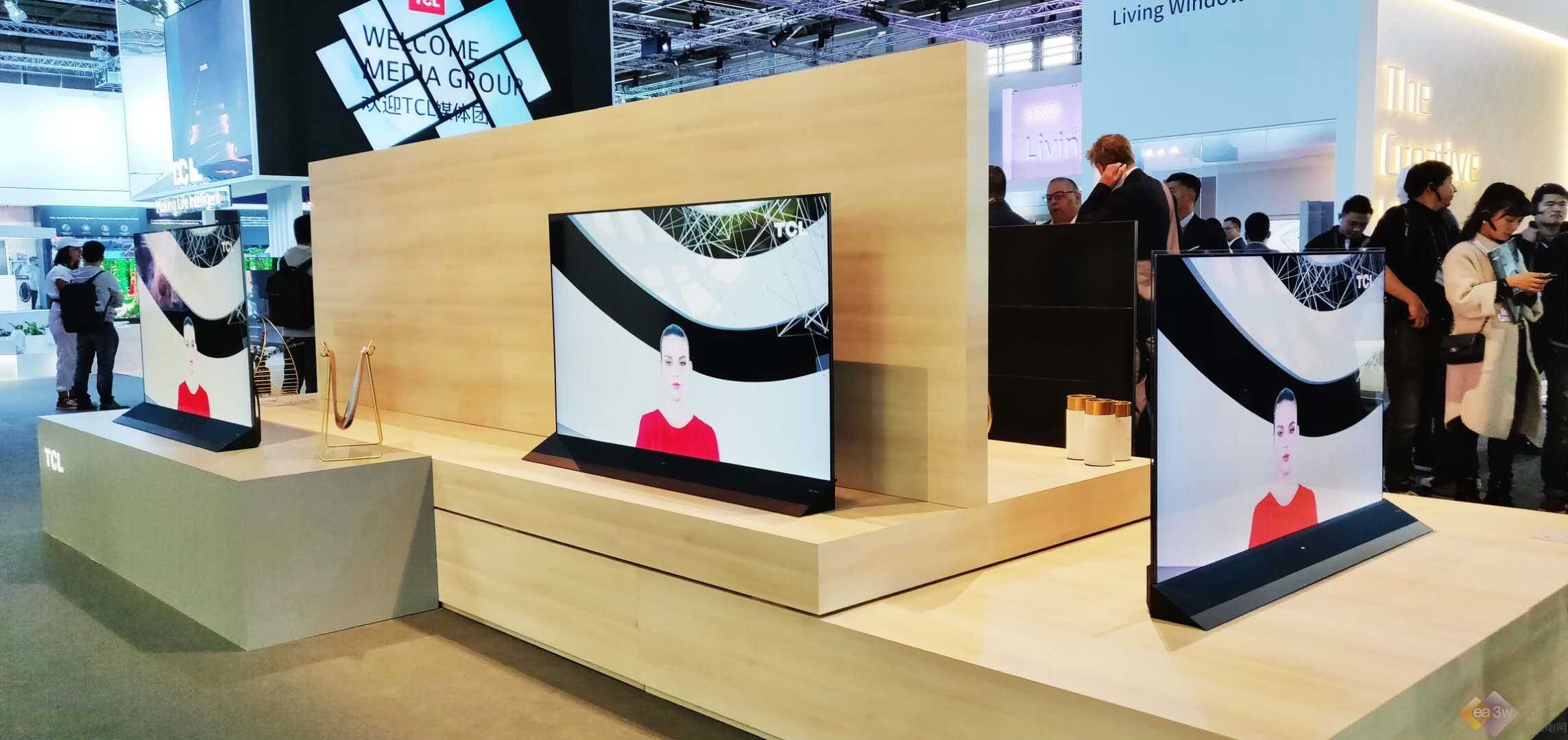 TCL电视 IFA 2018大秀实力,浮窗全场景TV、人工智能、8K抢占未来家
