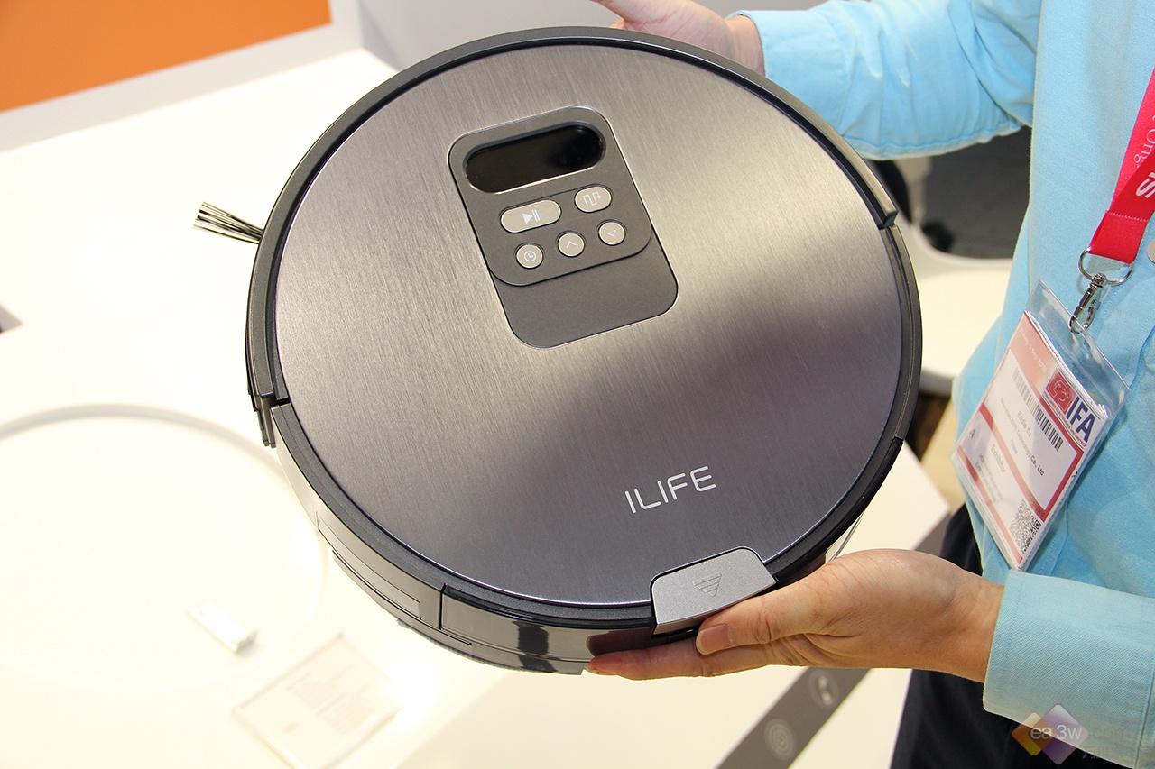 扬帆海外成绩斐然,ILIFE智意扫地机器人亮相IFA 2018