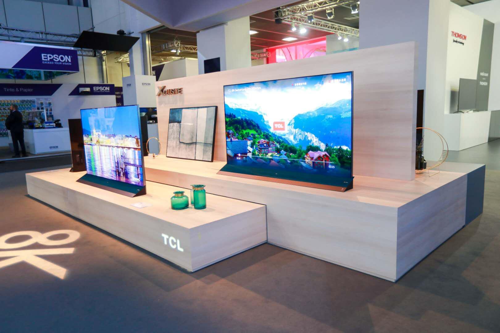 "IFA 2018再掀""TCL浪潮"",X8 QLED TV斩获产品技术创新大奖"