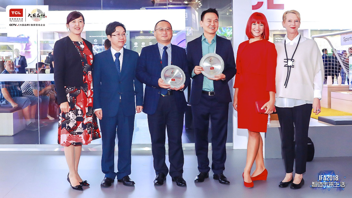 亮剑IFA2018 TCL智能新品秀中国NO.1原创力量