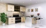 班贝格不锈钢橱柜+集成灶=最给力厨房搭配