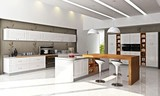 班贝格不锈钢橱柜点缀你家厨房的心情色彩