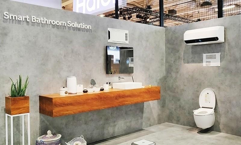 2018IFA现场:海尔智慧洗护与智慧浴室,开启衣联生态