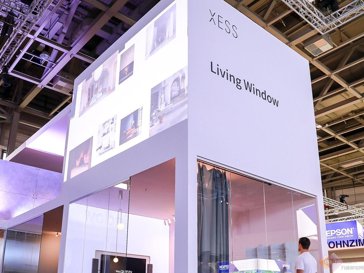 IFA 2018:XESS浮窗全场景TV现场图赏