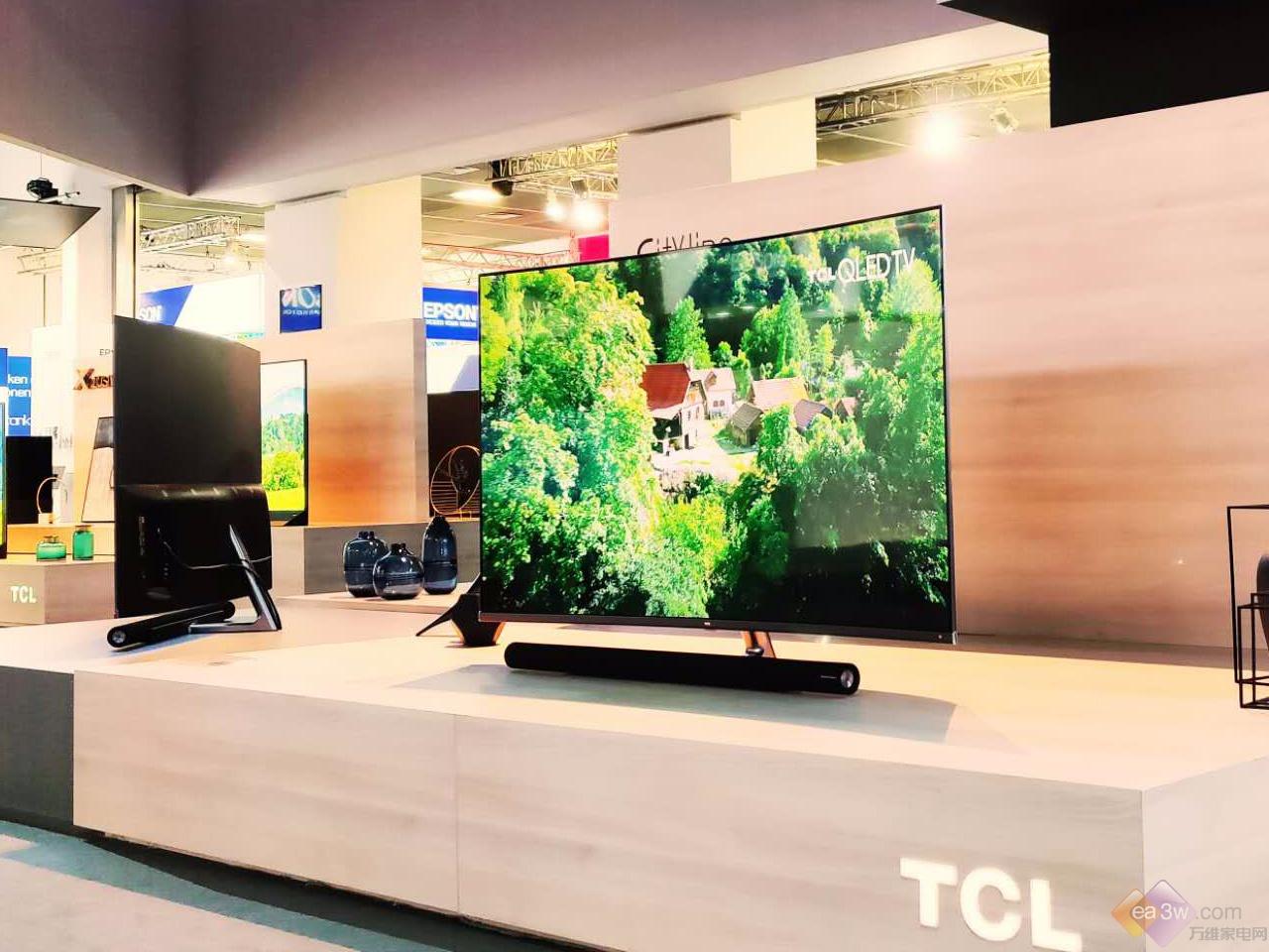 IFA 2018:TCL C7曲面全面屏电视现场图赏