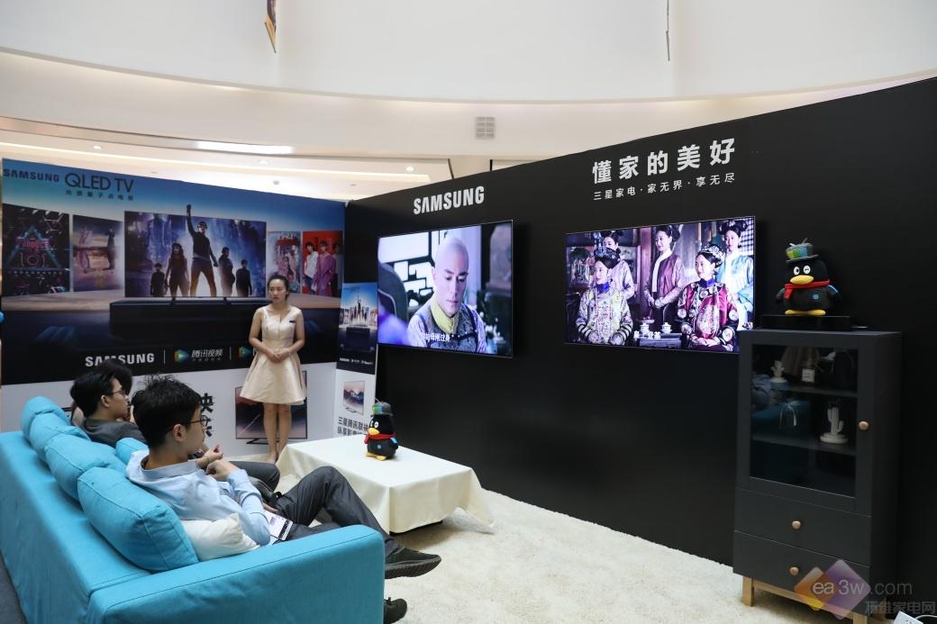 优质国漫走进客厅大屏,三星电视联袂腾讯视频演绎中国水墨风韵