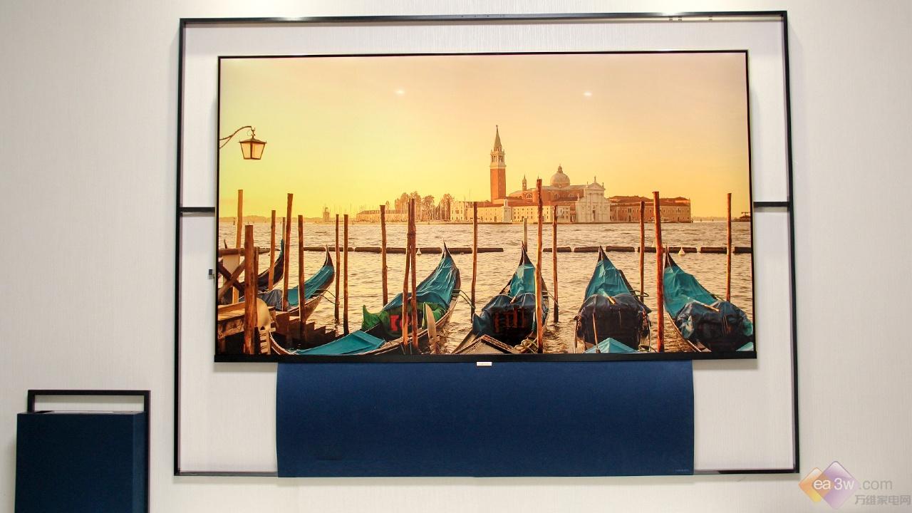 艺术与科技的碰撞,XESS浮窗全场景TV 65A100T体验评测