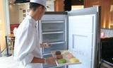 7Senses首席烘焙师朋友圈曝御用冷柜:海尔立式冷冻柜