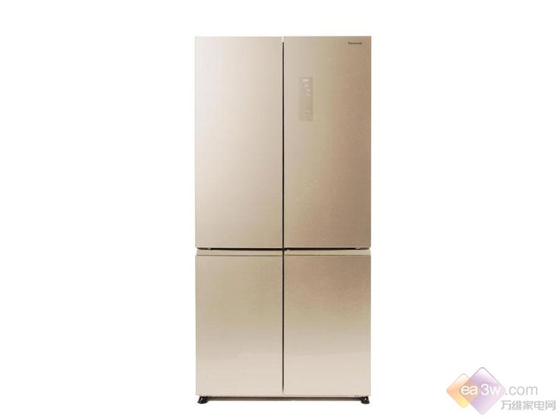 大气时尚!松下十字对开门冰箱NR-W621CG图赏