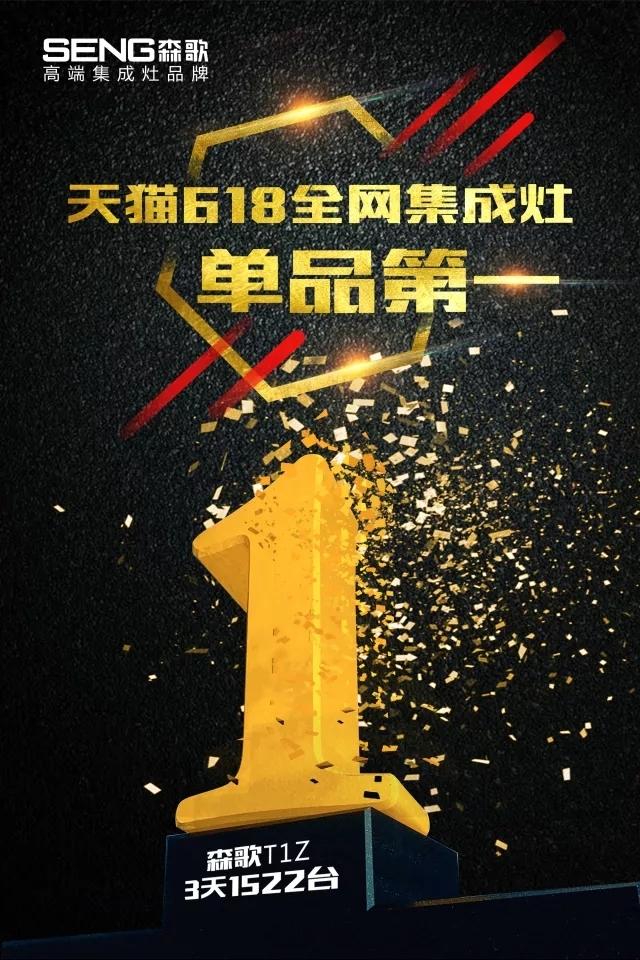 这是怎么了?天猫、京东、腾讯为什么要给森歌集成灶颁奖?