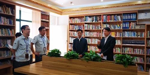 秋日书香飘满园-记上海松下图书教室落成