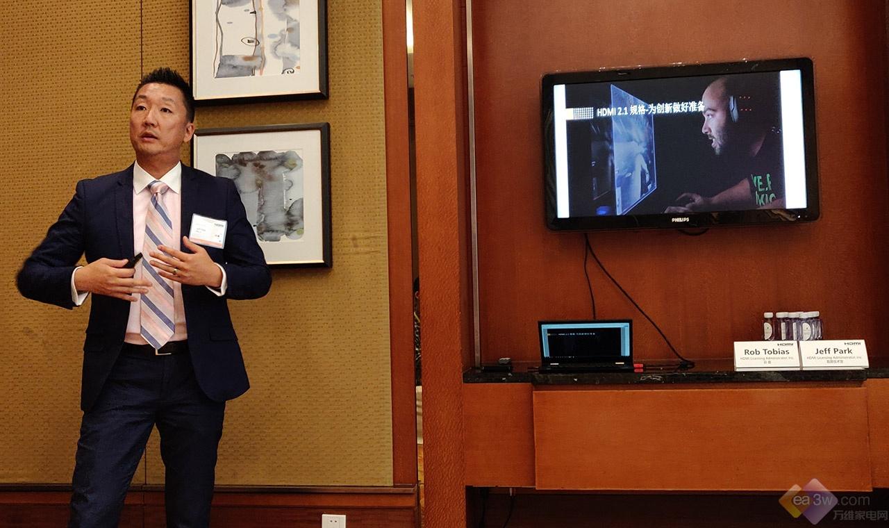 总裁专访:没有配备HDMI 2.1的8K电视都是伪8K